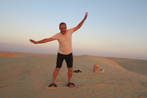 having fun in Egypt